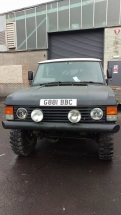 Cookie Range Rover - Pending Works