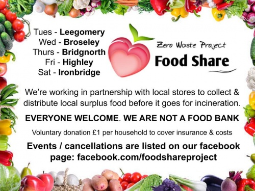 food share tables